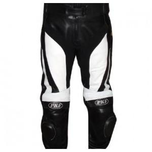 Pantalones moteros de piel PKF-7207, liquidación