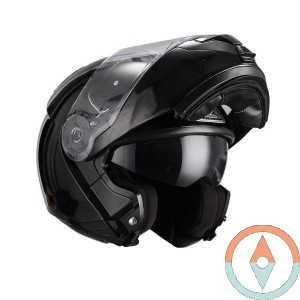 Casco Modular NZI COMBI DUO BLACK