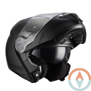 Casco Modular NZI COMBI DUO MATT BLACK