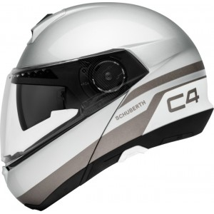 Schuberth C4 PULSE PLATA