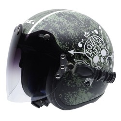 Casco NZI ROLLING II DUO LOVE TO DEATH
