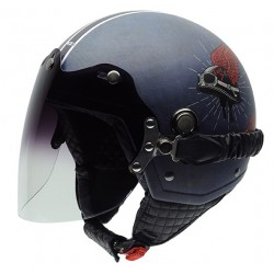Casco NZI TONUP VISOR LIVE TO RIDE