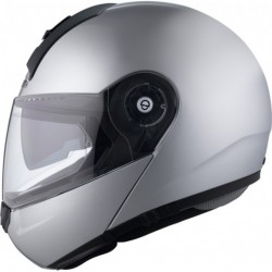 Casco Schuberth C3 BASIC Plata + Bluetooth