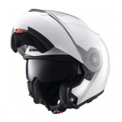 Casco Schuberth C3 BASIC Blanco + Bluetooth