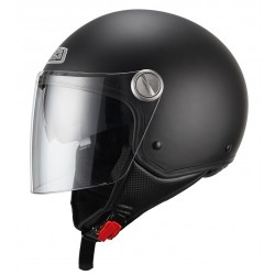 Casco NZI CAPITAL DUO MATT BLACK