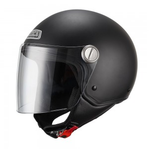 Casco NZI CAPITAL VISOR MATT BLACK
