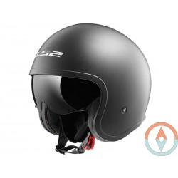 Casco LS2 SPITFIRE OF599 TITANIO MATE