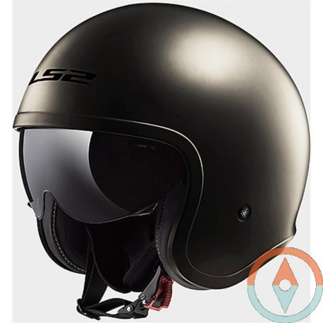 Casco LS2 SPITFIRE OF599 CROMO