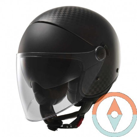 Casco LS2 CABRIO OF597 CARBONO