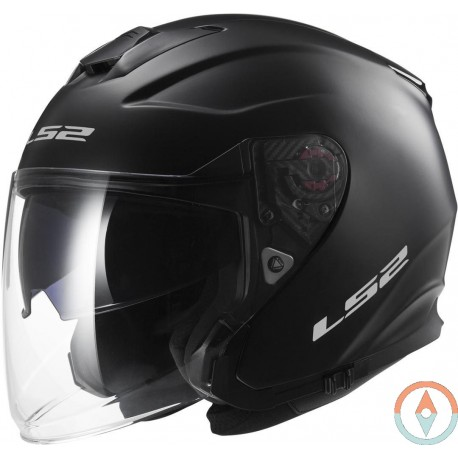 Casco LS2 INFINITY OF521 NEGRO MATE