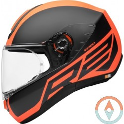 Casco Schuberth R2 TRACTION Orange
