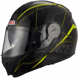 Casco Modular NZI COMBI 2 DUO SWORD BLACK AND YELLOW