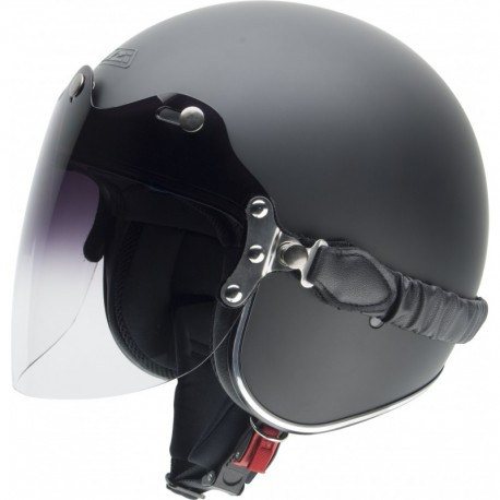 Casco NZI ROLLING 3 DUO MATT BLACK