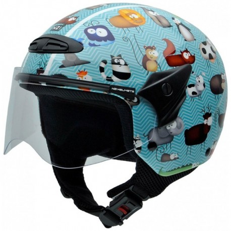 Casco NZI Helix II Junior ANIMALS