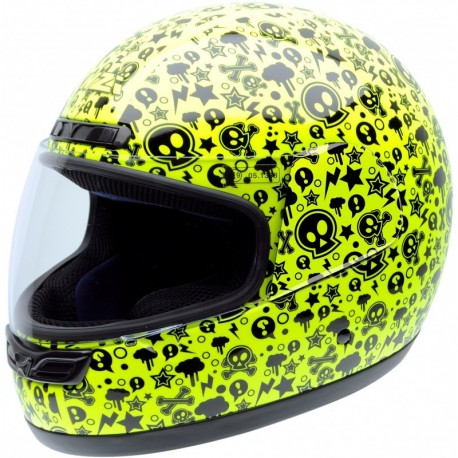 Casco NZI Activy Junior YELLOW BONES