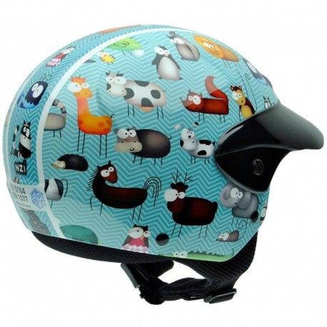 Casco NZI Single II Junior ANIMALS