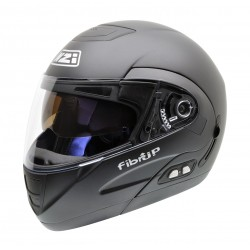 Casco Modular NZI FIBRUP DUO MATT BLACK PH