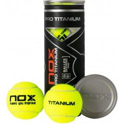 Pelotas Padel Nox Pro Titanium