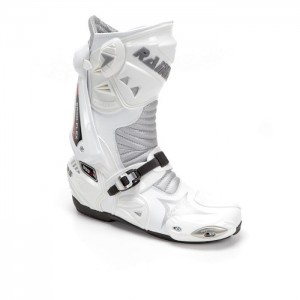 BOTAS RACING RAINERS 999 BLANCO